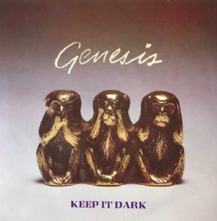 "Genesis ‎- Keep It Dark (7"") (EX-/VG)"